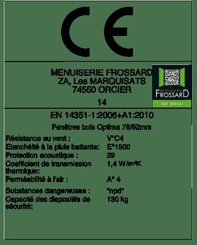 Certification CE