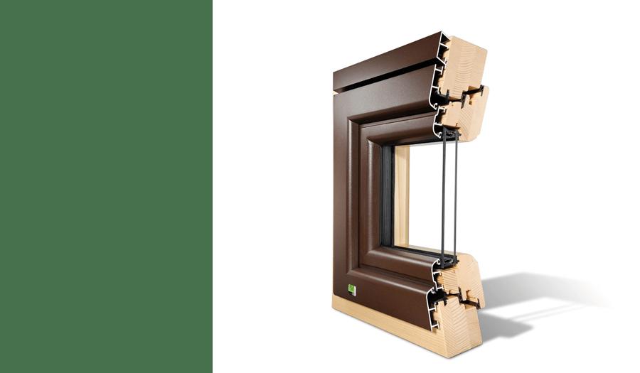 Fenêtre Prima Bois et Alu