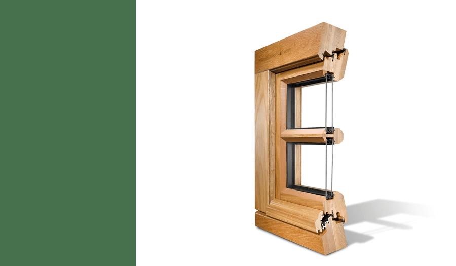 Fenêtre Renova Bois